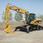 Gravemaskin hjul cat m316