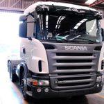 Transport lastebil Scania 420